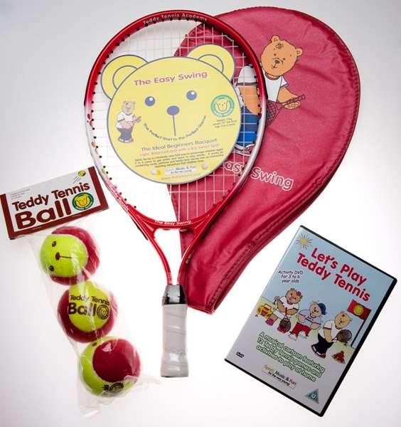 Beginner's Tennis Set: 4 To 6 Years