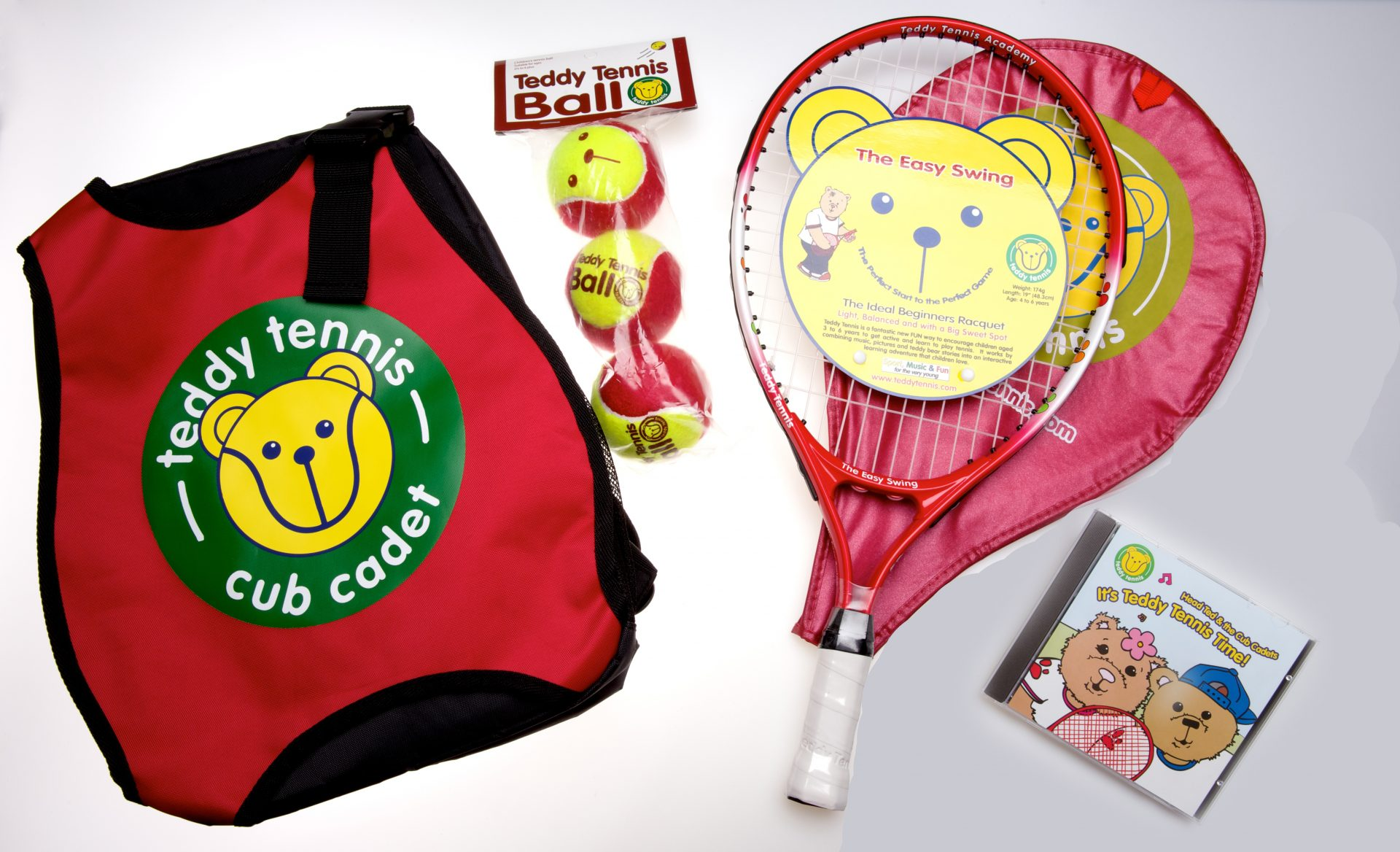 Tennis Set For Children Aged 4 To 6 Years